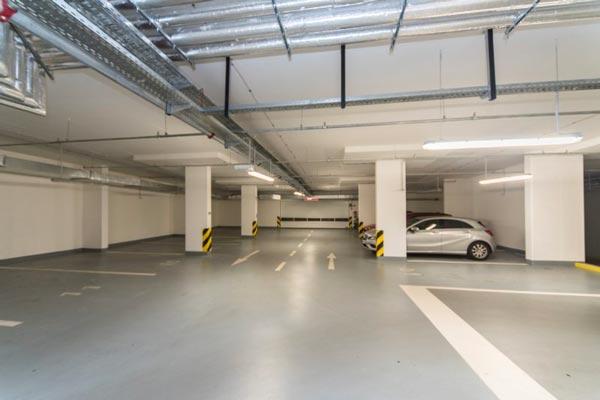 Pronájem garážového stání, 18 m2 Praha 9 – Letňany