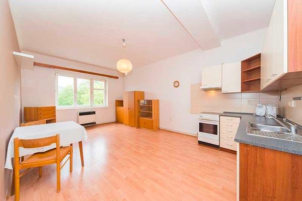 Pronájem bytu 1+1, 48 m2, DV Praha 3 – Žižkov