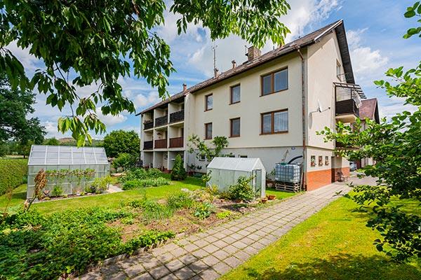Prodej bytu, 3+kk-2xB-G, 83 m2, OV, Božetice, okr. Písek